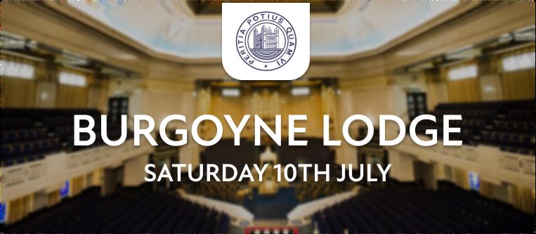 Burgoyne Lodge 902 July Meeting